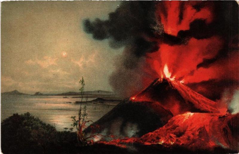 CPA Napoli Eruzione del Vesuvio. ITALY (527087)