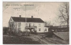 Helgeby rik Olas hem i Wermlanningarne Sweden 1909 postcard