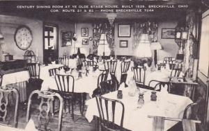 Century Dining Room At Ye Old Stage House Built 1839 Brecksville Ohio Artvue