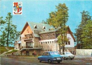 Romania Baia Mare hanul Pintea Viteazul tavern inn Dacia cars postcard