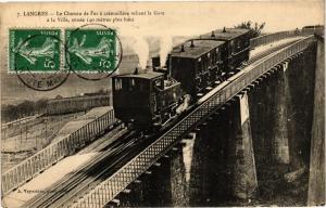 CPA Langres - Le Chemin de Fer (270357)