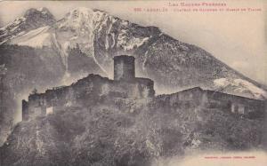 Chateau De Baucens Et Massif De Visuos, Argeles (Hautes Pyrenees), France, 19...