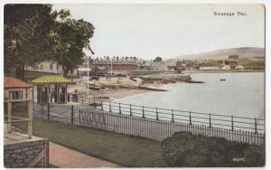 Dorset; Swanage Bay PPC, 1923 PMK To Miss Gillard, Catford
