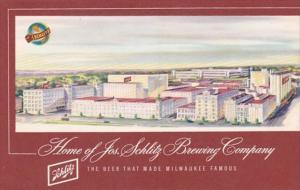 Wisconsin Milwaukee The Josef Schlitz Brewing Company 1964