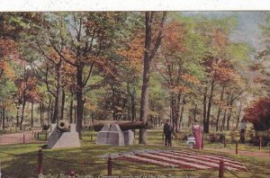 Illinois Chicago Garfield Park Cannons Captured In the Late Spanish War 1914