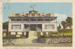 Chateau des Laurentides , St-Gabriel de Brandon , Quebec , Canada , PU-1946