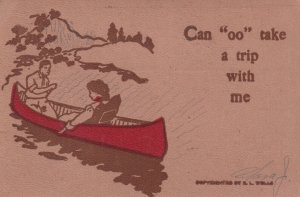 Couple ; Can oo Take a trip with me , 1907