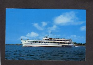 MA Ferry Boat Ship Siasconset Hyannis Nantucket Island Cape Cod Massachusetts PC