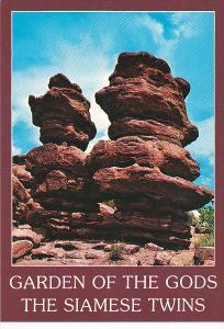 Colorado Garden Of The Gods The Siamese Twins