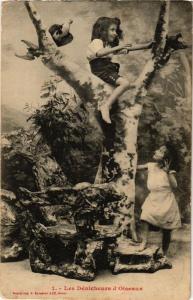 CPA Les Dénicheurs d'Oiseaux. 1. A. BERGERET (674981)