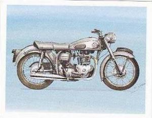 Newmarket Hardware Vintage Trade Card Britains Finest Bikes 1993 No 14 Norton...