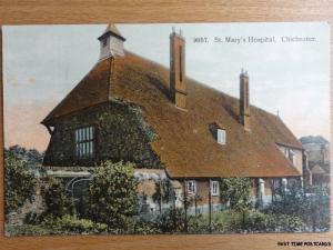 West Sussex CHICHESTER St Marys Hospital - Old Postcard No.9057
