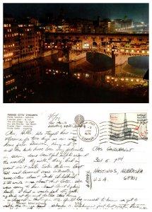 Firenze Citta D(Incanto) Old Birdge by Night