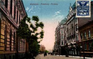 Czech Republic Bratislava Pressburg Pozsony 02.58