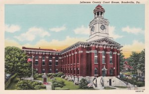 Jefferson County Court House , BROOKVILLE , Pennsylvania ; 00s-10s