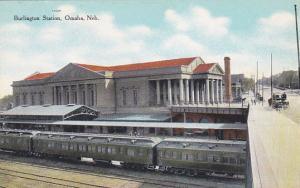 Burlington Train Station, OMAHA, Nebraska, 1900-1910s