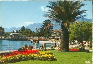 Suisse, Locarno, Lago Maggiore, 1960s unused Postcard