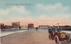 Iowa Waterloo 5th Street Bridge 1912