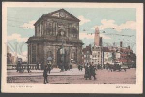 098673 HOLLAND Rotterdam Delftsche Poort Vintage PC