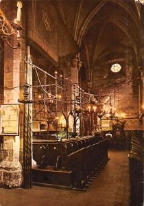 Staronova Synagoga, Old and New Synagogue, Prague Czechoslovakia Unused light...