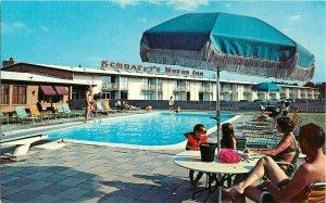 Postcard Schrafft's Resturant And Motor Inn, Glenmont, NY