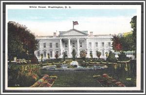 Washington DC The White House - [DC-059]