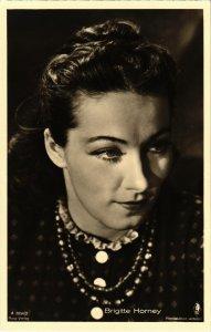 CPA AK FILM STAR Brigitte Horney Ross Verlag (94134)