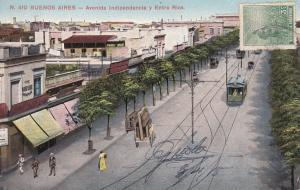 BUENOS AIRES , Argentina , 00-10s ; Avenida Indipendencia y Entre Rios