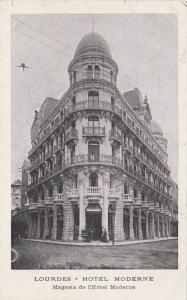 France Lourdes Hotel Moderne
