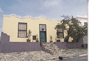 Cape Moslem Muslim House Town Bo Kaap Houses Museum South Africa Postcard