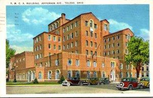 Ohio Toledo Y M C A Building Jefferson Avenue 1939