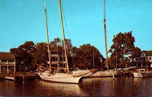 Maryland St Michaels Chesapeake Bay Maritime Museum The Bugeye Edna E Lockwoo...