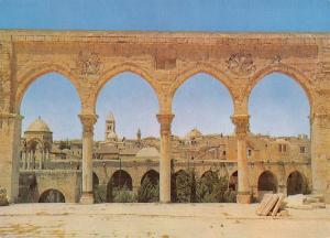 Jerusalem Israel Middle East Postcard, Old Jerusalem, Holy Lane Z35