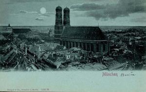 Germany - Munich. Bird's Eye View