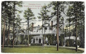 Georgian Court, Residence of George Gould, Lakewood, New Jersey, unused ANC