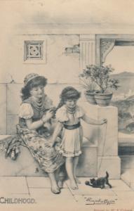 CHILDHOOD , 1904 ; TUCK 2901