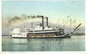Mississippi River Steamboats Ferry Boats, Ship, Ships, Postcard Post Cards  M...