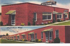 HAGERSTOWN , Maryland, 30-40s ; Hagerstown Motel