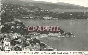 Modern Postcard Monaco Monte Carlo Monte Carlo Beach to Cape Town was Martin