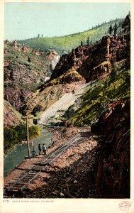 Colorado Eagle River Canyon Detroit Publishing