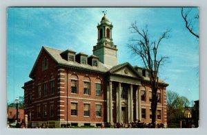 Newport RI-Rhode Island, The Courthouse, Chrome c1968 Postcard