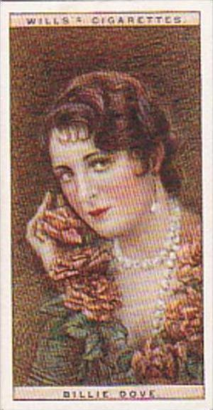 Wills Cigarette Card Cinema Stars 2nd Series No 8 Billie Dove