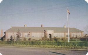 Exterior, The High School in Camrose,  Alberta,  Canada,   40-60s