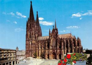 Germany Koln am Rhein Dom Sudseite Cathedral southern side
