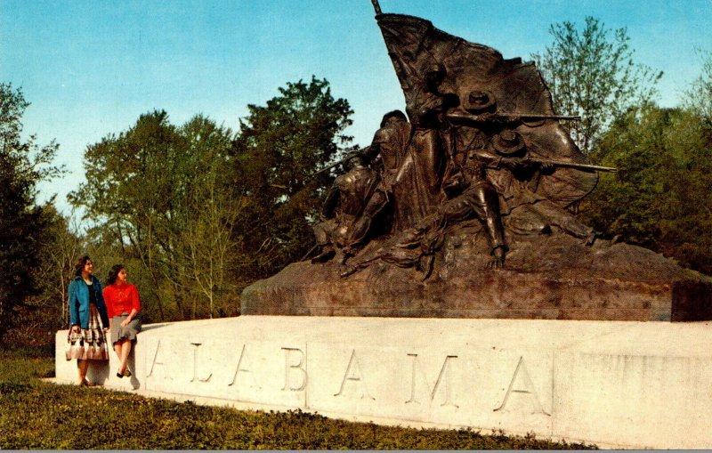 Mississippi Vicksburg National Military Park Alabama Memorial