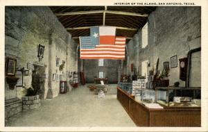 TX - San Antonio. The Alamo, Interior