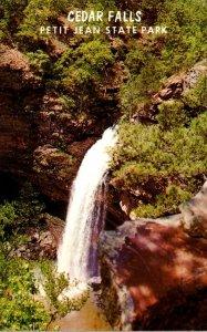 Arkansas Petit Jean State Park Cedar Falls