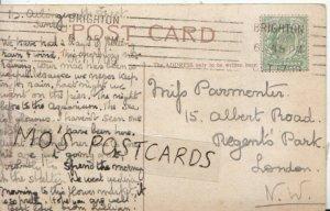Genealogy Postcard - Parmenter? - Albert Road - Regents Park - London  Ref 6036A