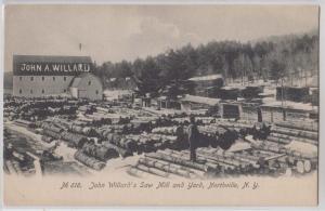 John Willard's Saw Mill & Yard, Northville NY