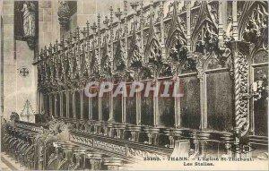 Postcard The Old Church St Thiebaut Thann The Stalls